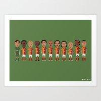 Galatasaray 2013 Art Print