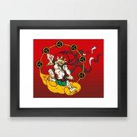 Raijin Framed Art Print
