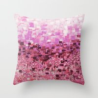 :: Pink Compote :: Throw Pillow