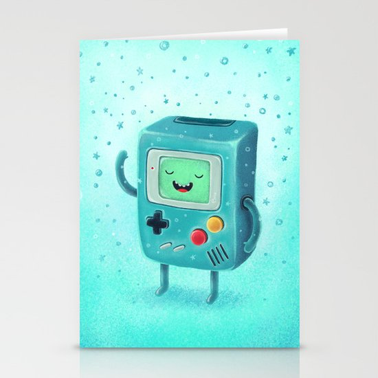 Game Beemo Stationery Card