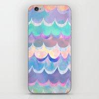 Mia Wave {Aqua} iPhone & iPod Skin