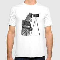 Foto Dodo #1 Mens Fitted Tee White SMALL
