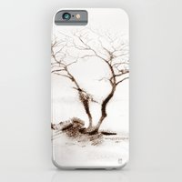 Scots Pine Sepia iPhone 6 Slim Case