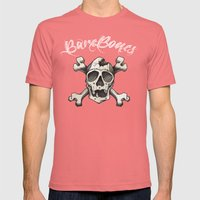 cross bones Mens Fitted Tee Pomegranate SMALL