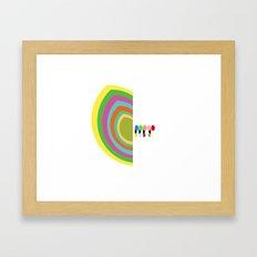 Half Hearted  Framed Art Print