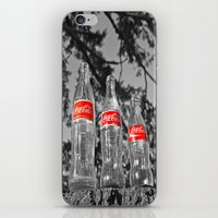 Classic Soda Bottles iPhone & iPod Skin
