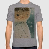 Snuggle Bubble Mens Fitted Tee Athletic Grey SMALL