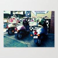 Classy Rides Canvas Print