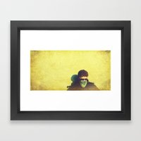 The One Who Lost His Ste… Framed Art Print