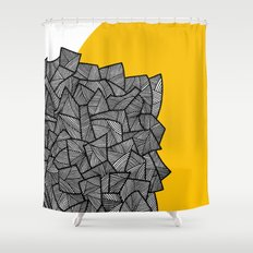 - burn - Shower Curtain