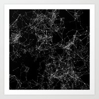Artificial Constellation 200.03.4252 Art Print