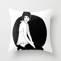 Midnight Mood Throw Pillow