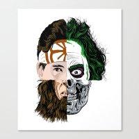 80's movies Canvas Print
