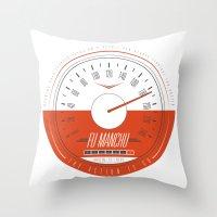 FU MANCHU - Austin, TX -… Throw Pillow