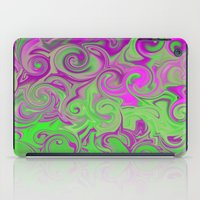 Pink and green  iPad Case