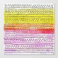 Slash dot Dash 3 Canvas Print