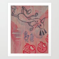 Dick And Jane Go To Disn… Art Print