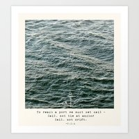 Set Sail (Franklin Delan… Art Print