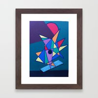 pattern art Framed Art Print