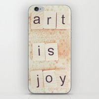 Art Is Joy iPhone & iPod Skin