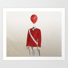 The Guard - #1 in my series of 4 Art Print