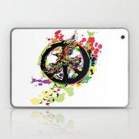 Peace & Peace Laptop & iPad Skin