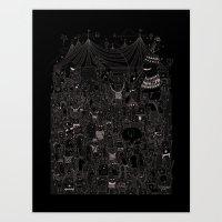 Music Festival Art Print