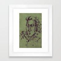 Madame Lulu Framed Art Print