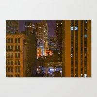 Four Color Construction … Canvas Print