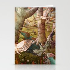 Of Mice And Owls Stationery Cards