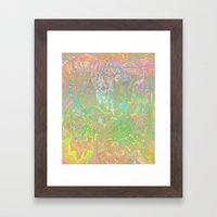 Hush + Glow Framed Art Print