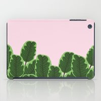 Banana Leaves and Pink iPad Case