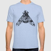 Fly Mens Fitted Tee Athletic Blue SMALL