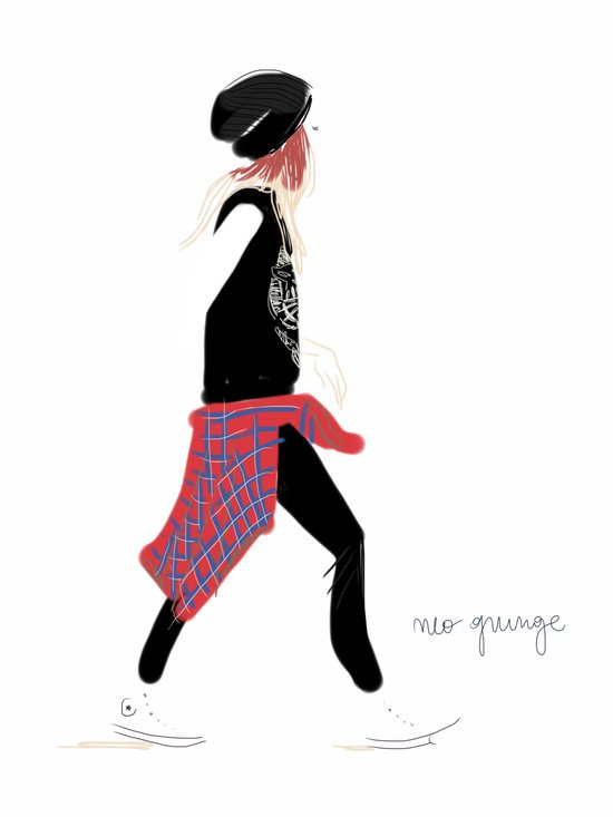 #theFIserie: Neo Grunge Art Print