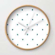 Dots Ahoy Wall Clock