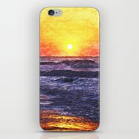 Ocean Sunrise iPhone & iPod Skin