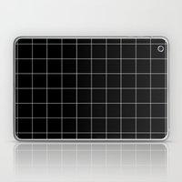 Black Grid /// Www.penci… Laptop & iPad Skin