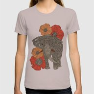 T-shirt featuring The Elephant by Valentina Harper