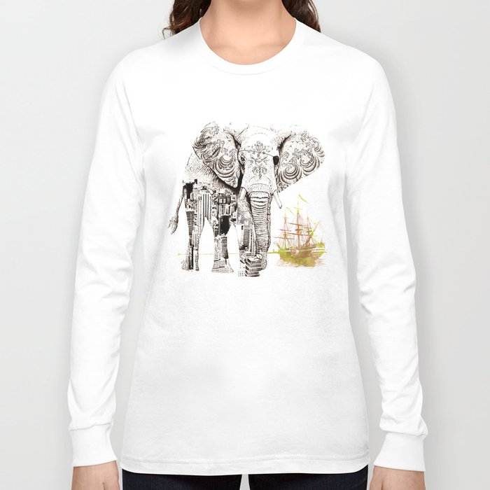 Tattoo me long sleeve t shirt by florever society6 for Tattoo shirts long sleeve