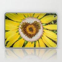 Sunflower of Love Laptop & iPad Skin