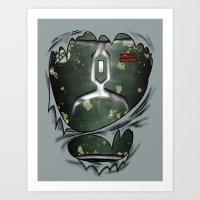 Mandalorian Bounty Hunte… Art Print
