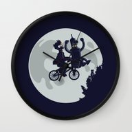 Future Friends Wall Clock