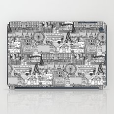 London toile black white iPad Case