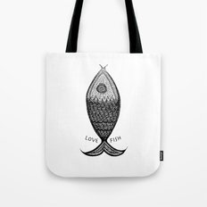 LoveFish Tote Bag