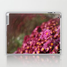 Colorful Pink Flowers Laptop & iPad Skin