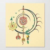 Ornament Variation Three Canvas Print