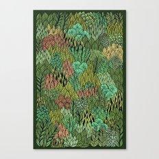 April Leaves Canvas Print