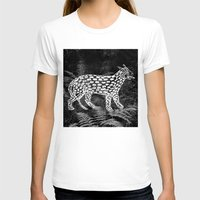 Forest Panther Womens Fitted Tee White SMALL