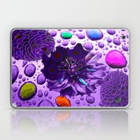 Purple Blossom Laptop & iPad Skin