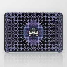 Purple Meditation iPad Case